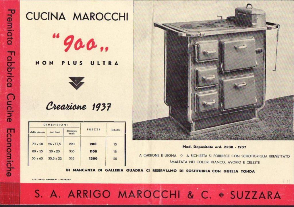 Una pubblicità dei primi anni del secolo scorso.