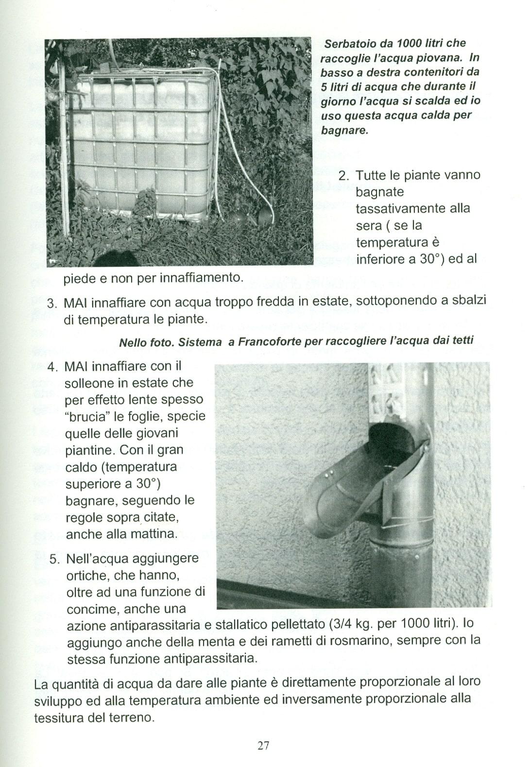 """una pagina del libro """"l'orto di montagna"""""""