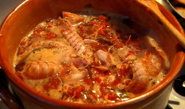 Zuppa di pesce alla Termolese.