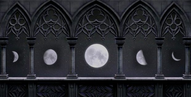 La Luna e le sue fasi.