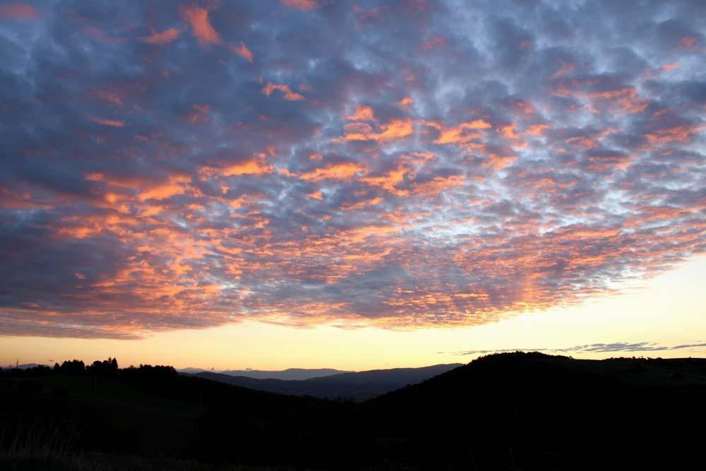 Una splendida alba.